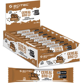 SCITEC Cereal Bro Vegan Bar Box Vegano 20x36g, Nut